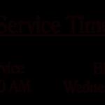 Service Time copy