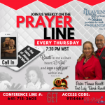 Prayer Line 2 May 2018