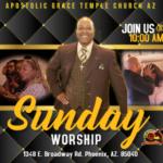 Sunday Morning Worship at GTC Aug- Sept 2018