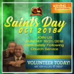 Saints Day 2018