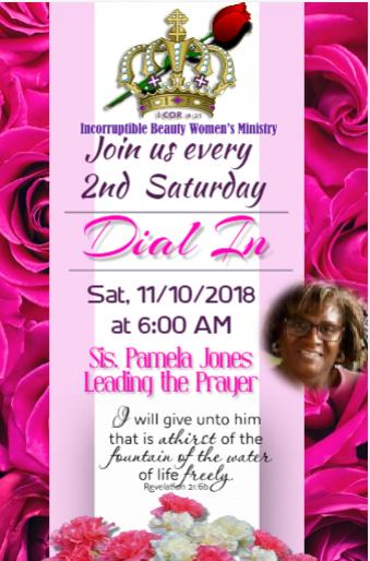 IBWM Prayer Lin 11-10-2018