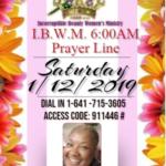 I.B.W.M Prayer Line