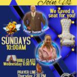 Join us Sunday Jan 2019