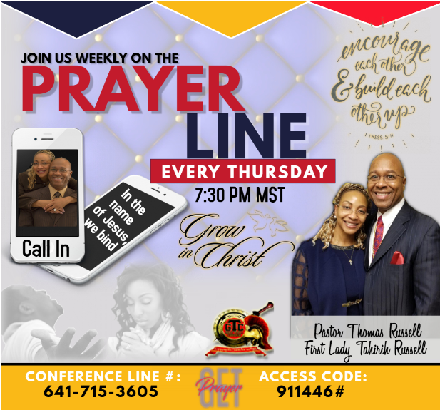 Prayer Line 2019 - 2
