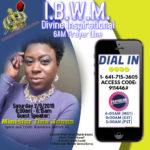 I.B.W.M Prayer Line 2-9-2019