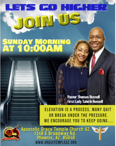Join Us Sunday APril 2019
