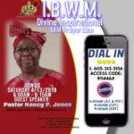 IBWM Prayer Line 4-13-2019