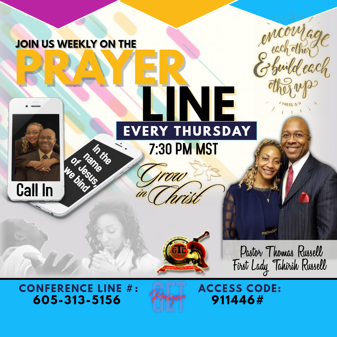 Prayer line 2019 April and May