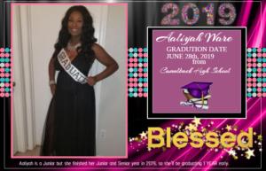 Aaliyah Ware graduation2
