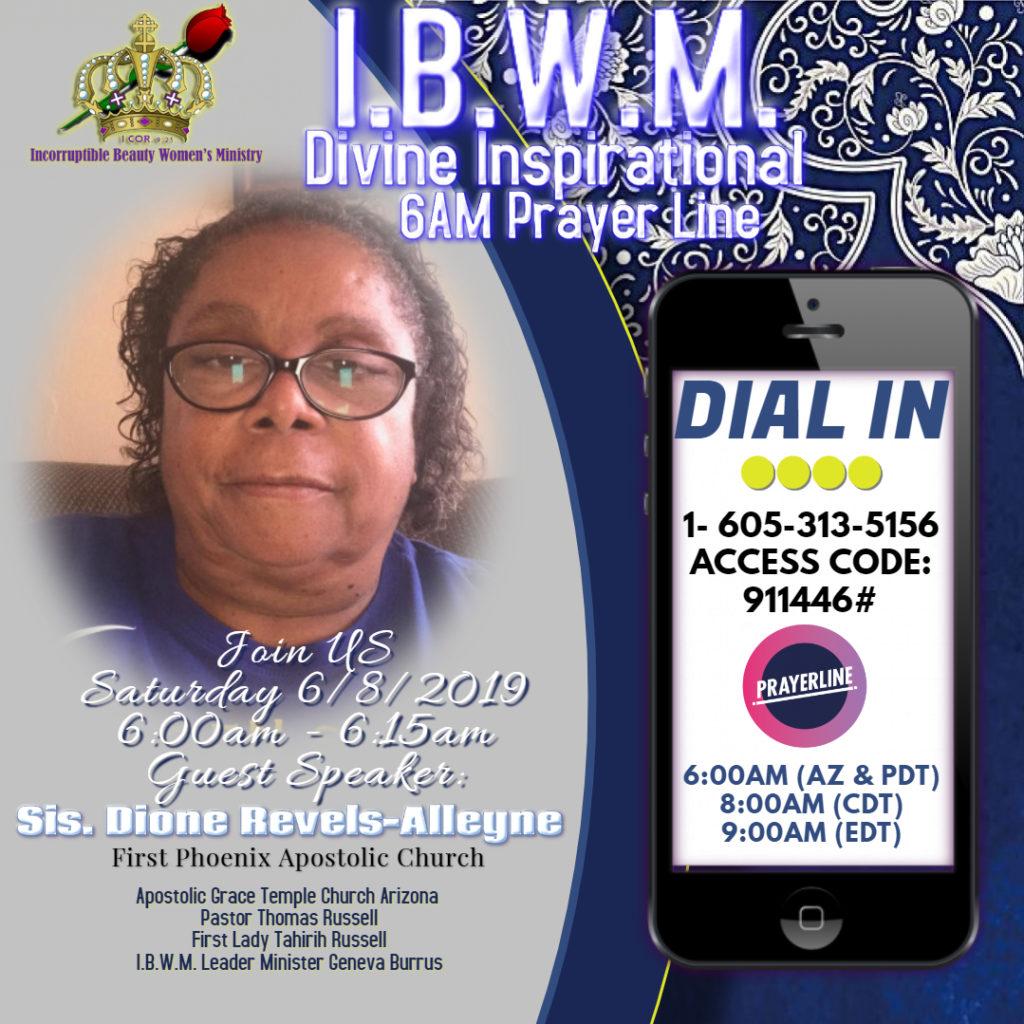Sister Dione Revels-Alleyne