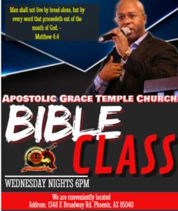 Bible Class July 2019