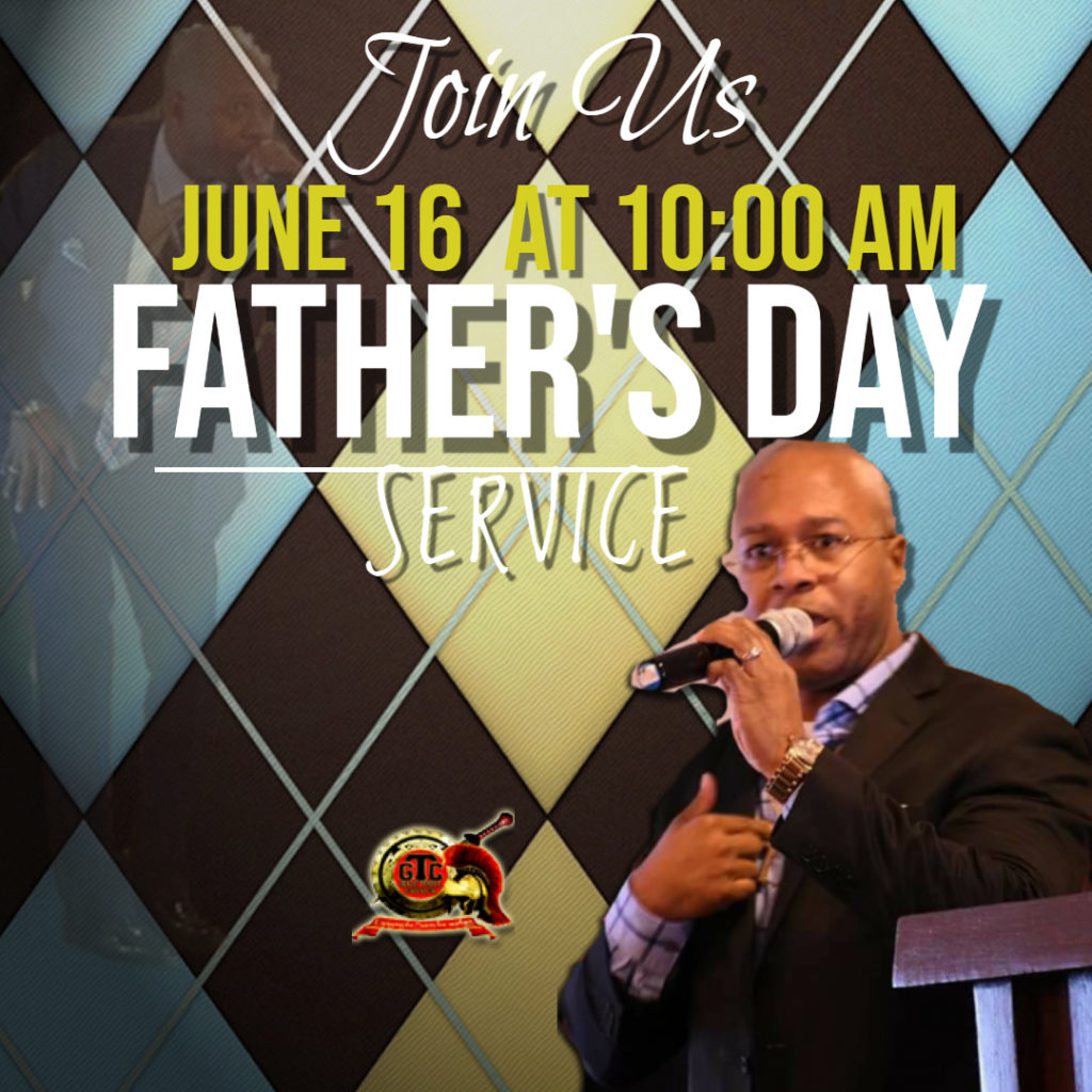 Copy of Fathers Day Service - Made with PosterMyWall