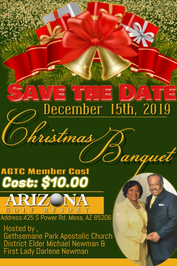 Christmas Banquet 2019