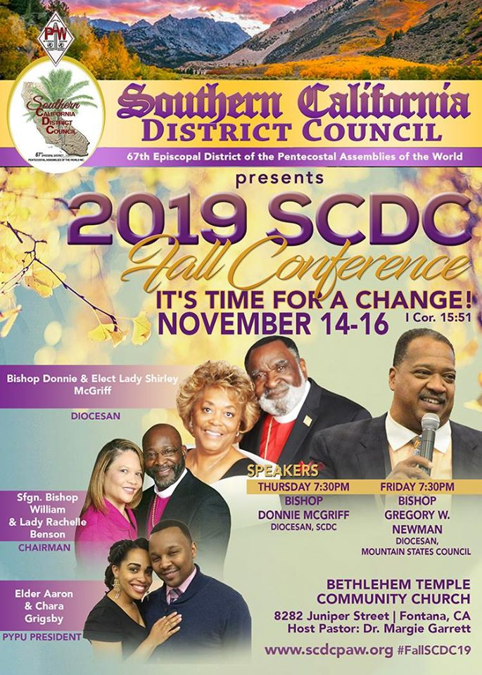 MSC Fall Conference February 2020