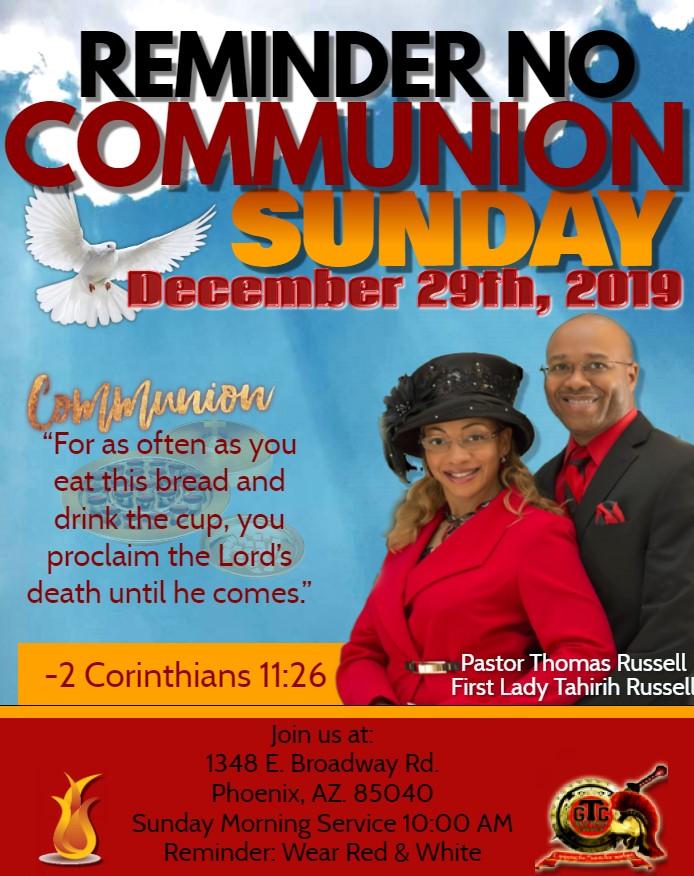 No Communion