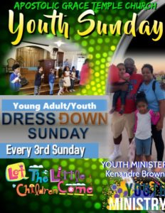 Youth Sunday Flyer 2019