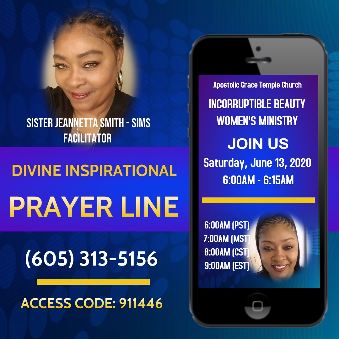 IBWM June Prayer Line