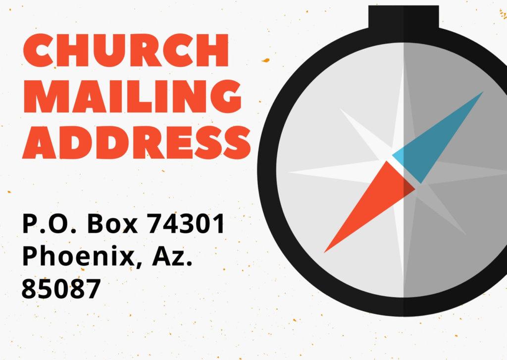 church mailing